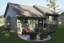 Craftsman Exterior - Rear Elevation Plan #928-138