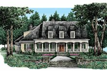 House Design - Country Exterior - Front Elevation Plan #927-329