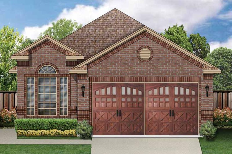 House Plan Design - Traditional Exterior - Front Elevation Plan #84-672