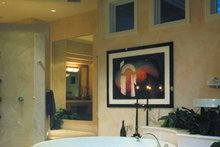 Architectural House Design - Mediterranean Interior - Bathroom Plan #930-109