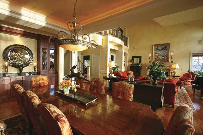 Craftsman Interior - Dining Room Plan #132-485 - Houseplans.com