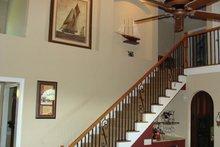 Colonial Interior - Entry Plan #927-866