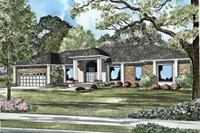 Contemporary Exterior - Front Elevation Plan #17-3120