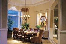 Dream House Plan - Mediterranean Interior - Dining Room Plan #930-194