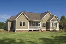 Home Plan - Traditional Exterior - Rear Elevation Plan #929-708