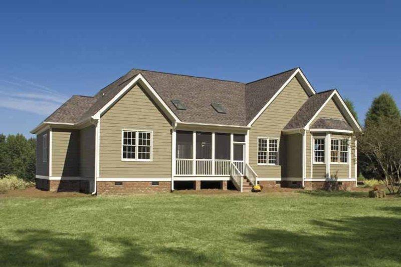 Traditional Exterior - Rear Elevation Plan #929-708 - Houseplans.com