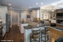 House Plan Design - Country Interior - Kitchen Plan #929-610