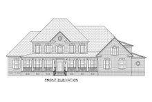 Country Exterior - Front Elevation Plan #1054-73