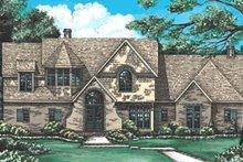 Home Plan Design - European Exterior - Front Elevation Plan #20-255