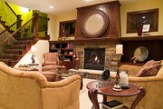 Craftsman Style House Plan - 4 Beds 3.5 Baths 3770 Sq/Ft Plan #56-583 Photo