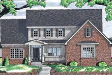 Home Plan Design - Traditional Exterior - Front Elevation Plan #20-263