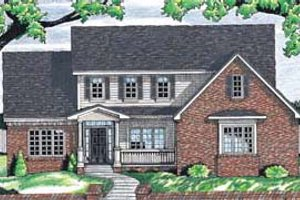 Traditional Exterior - Front Elevation Plan #20-263