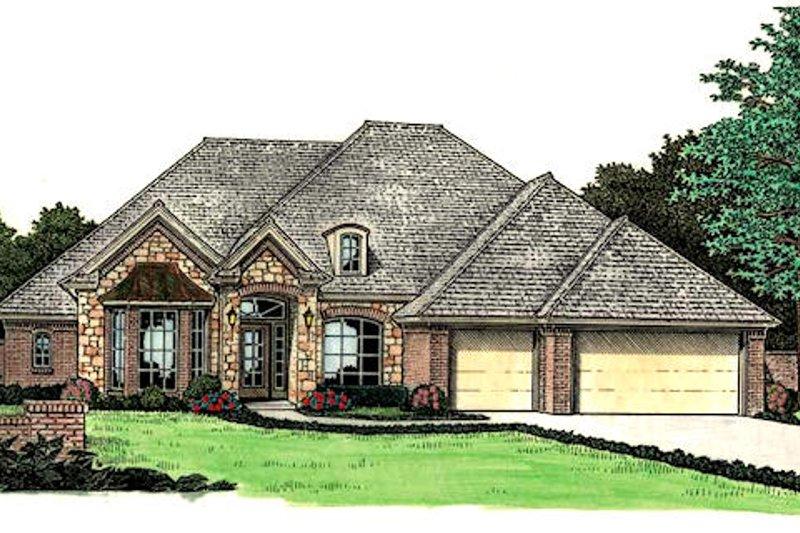 Dream House Plan - European Exterior - Front Elevation Plan #310-815