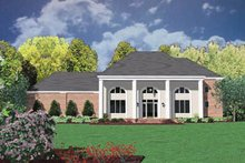 Colonial Exterior - Front Elevation Plan #36-227