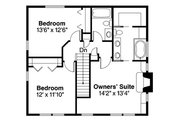 Traditional Style House Plan - 3 Beds 2.5 Baths 1733 Sq/Ft Plan #124-852 Floor Plan - Upper Floor