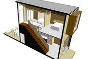 Modern Style House Plan - 2 Beds 1.5 Baths 670 Sq/Ft Plan #469-2