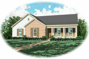 Traditional Exterior - Front Elevation Plan #81-167