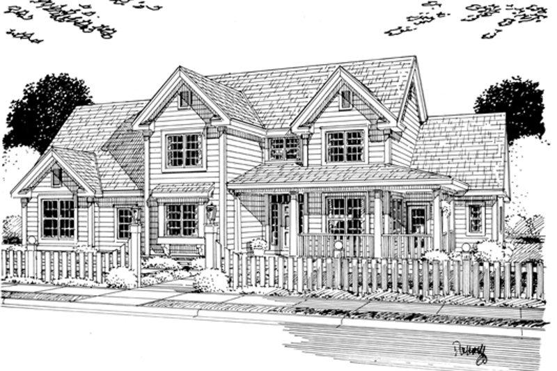 Farmhouse Exterior - Other Elevation Plan #513-2046 - Houseplans.com