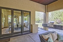 Architectural House Design - Adobe / Southwestern Exterior - Outdoor Living Plan #451-25