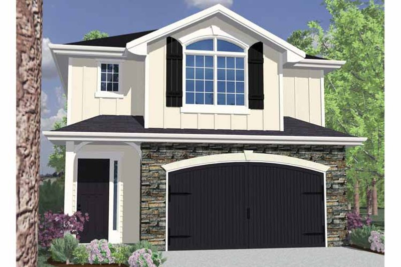 Traditional Exterior - Front Elevation Plan #509-169 - Houseplans.com