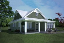 Architectural House Design - Ranch Exterior - Front Elevation Plan #991-28