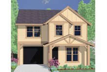 Architectural House Design - Traditional Exterior - Front Elevation Plan #509-184