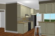Cottage Style House Plan - 2 Beds 2 Baths 1073 Sq/Ft Plan #44-178