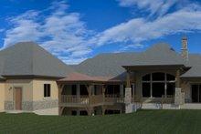 House Plan Design - European Exterior - Rear Elevation Plan #920-77
