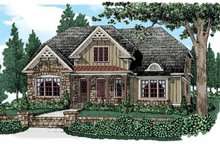 Country Exterior - Front Elevation Plan #927-522