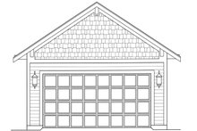 House Plan Design - Craftsman Exterior - Other Elevation Plan #46-842