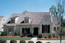 Country Exterior - Front Elevation Plan #453-149