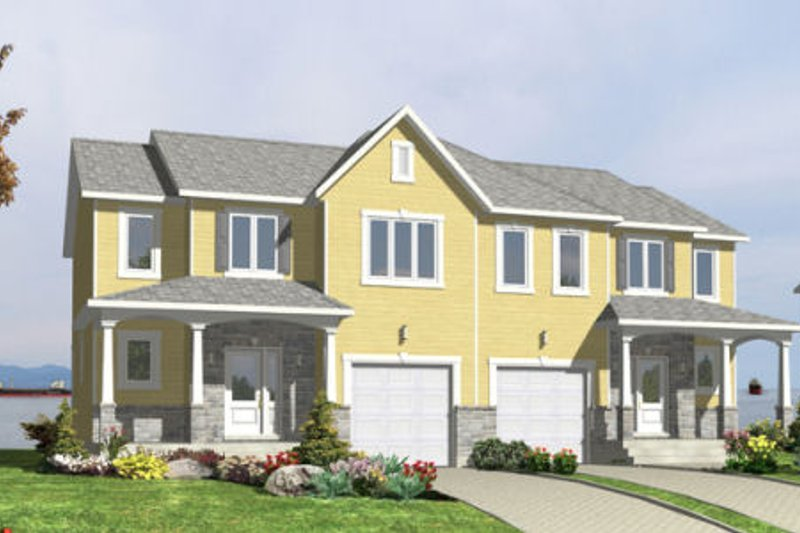 Country Style House Plan - 3 Beds 1.5 Baths 3683 Sq/Ft Plan #138-256 Exterior - Front Elevation