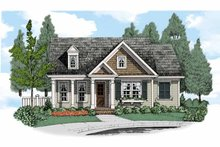 Home Plan - Bungalow Exterior - Front Elevation Plan #927-515