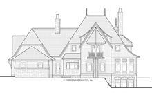 Dream House Plan - Craftsman Exterior - Rear Elevation Plan #928-244