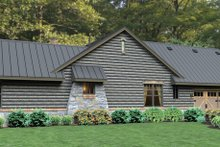 Dream House Plan - Bungalow Exterior - Other Elevation Plan #120-245