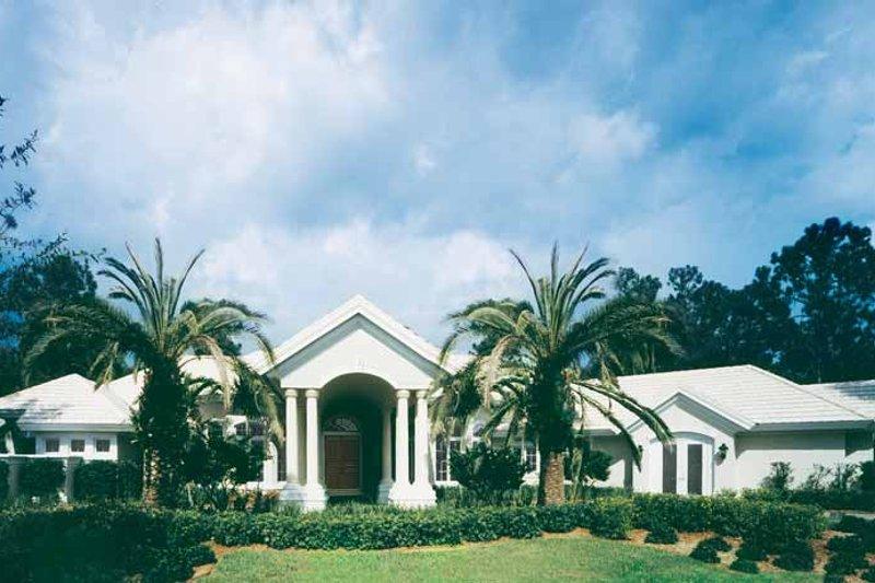 Architectural House Design - Mediterranean Exterior - Front Elevation Plan #930-175