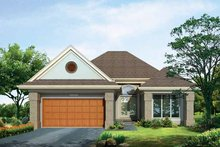 Craftsman Exterior - Front Elevation Plan #72-935