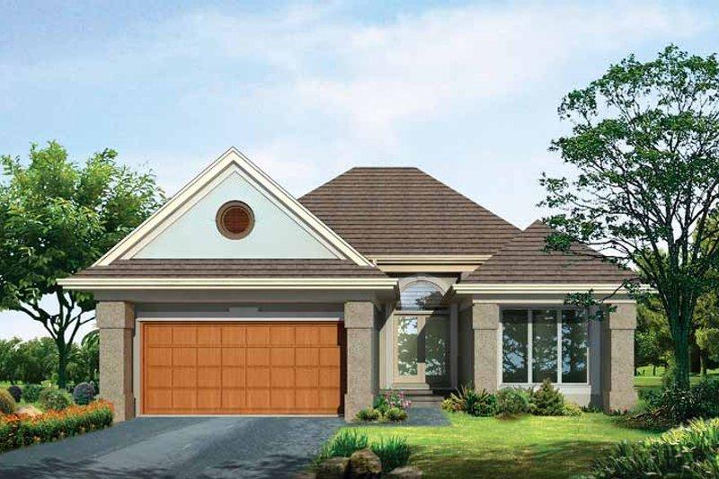 Craftsman Exterior - Front Elevation Plan #72-935