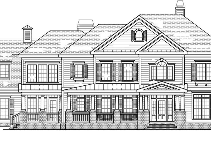 Classical Exterior - Front Elevation Plan #927-845 - Houseplans.com