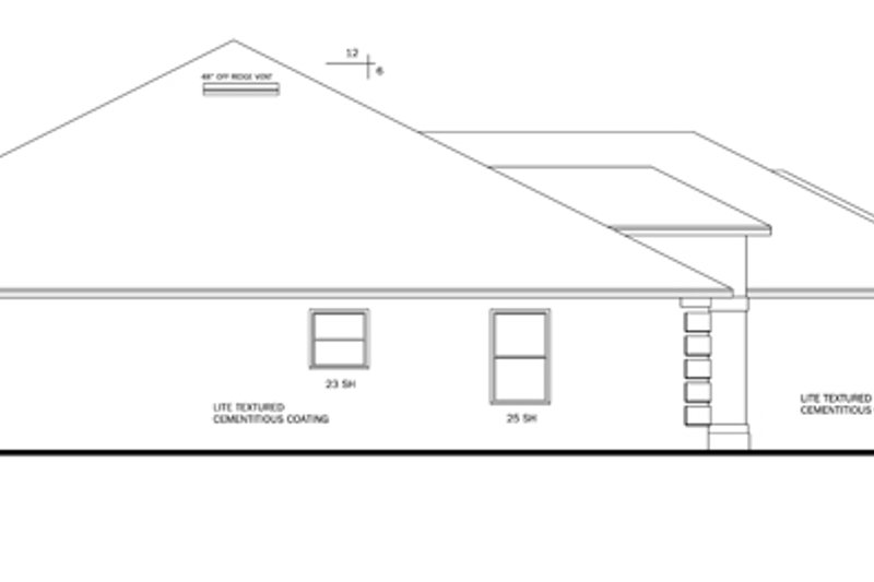 Traditional Exterior - Other Elevation Plan #1058-48 - Houseplans.com