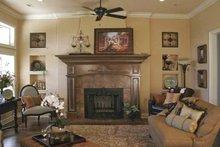 Architectural House Design - Contemporary Interior - Family Room Plan #11-273