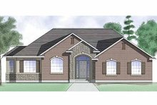 Architectural House Design - Traditional Exterior - Front Elevation Plan #945-7