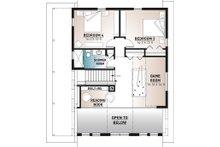 Cottage Floor Plan - Upper Floor Plan Plan #23-2718