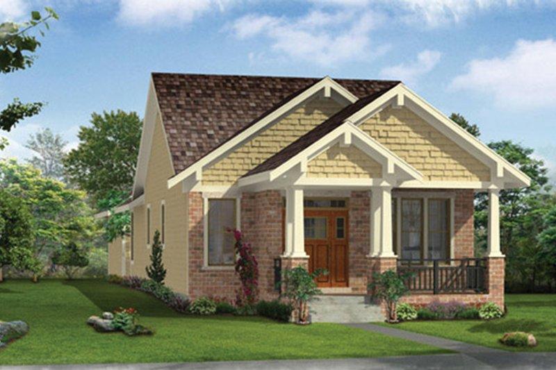 House Plan Design - Craftsman Exterior - Front Elevation Plan #46-842