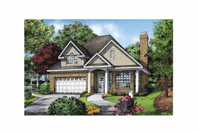 Ranch Exterior - Front Elevation Plan #929-866 - Houseplans.com