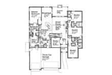 Country Floor Plan - Main Floor Plan Plan #310-1270