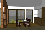 Modern Style House Plan - 3 Beds 2 Baths 1986 Sq/Ft Plan #519-2 Interior - Dining Room