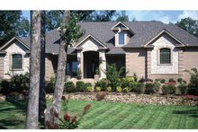Home Plan - Contemporary Exterior - Front Elevation Plan #17-2826