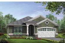 Dream House Plan - Craftsman Exterior - Front Elevation Plan #132-530