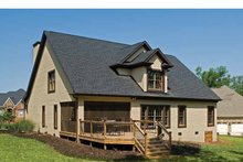 Dream House Plan - Country Exterior - Rear Elevation Plan #929-651